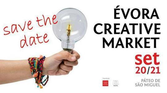 """A 3ª edição do """"Creative market"""" em Évora no Páteo de São Miguel"""