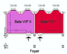 Room Scheme VIP I